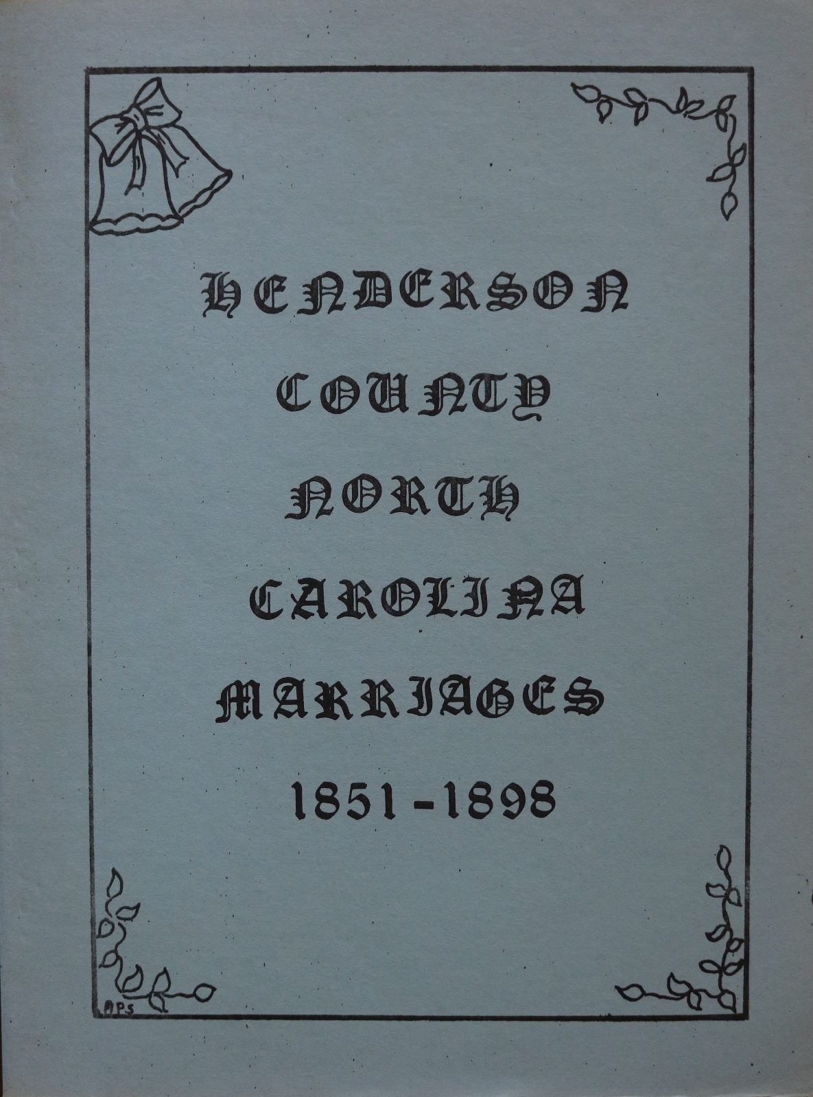 Old Tryon County Genealogical Society Books for Sale